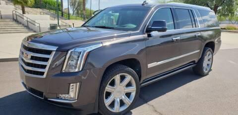 2016 Cadillac Escalade ESV for sale at Arizona Auto Resource in Tempe AZ