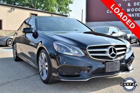 2014 Mercedes-Benz E-Class for sale at LAKESIDE MOTORS, INC. in Sachse TX
