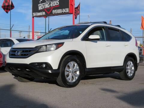 2012 Honda CR-V for sale at Moving Rides in El Paso TX