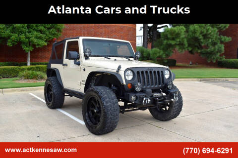 2011 Jeep Wrangler for sale at Atlanta Cars and Trucks in Kennesaw GA