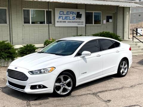 2014 Ford Fusion Hybrid for sale at Clean Fuels Utah - SLC in Salt Lake City UT