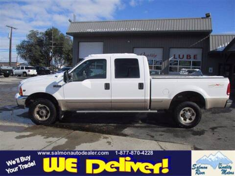 1999 Ford F-350 Super Duty for sale at QUALITY MOTORS in Salmon ID