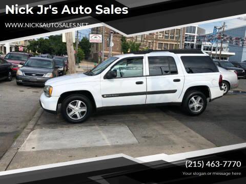 2004 Chevrolet TrailBlazer EXT for sale at Nick Jr's Auto Sales in Philadelphia PA