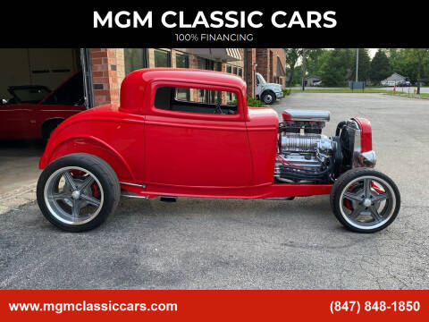 1932 Ford Coupe for sale at MGM CLASSIC CARS in Addison, IL