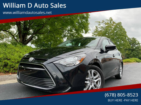 2016 Scion iA for sale at William D Auto Sales in Norcross GA