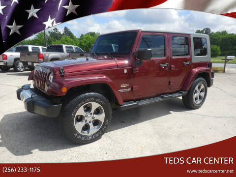 2009 Jeep Wrangler Unlimited for sale at TEDS CAR CENTER in Athens AL