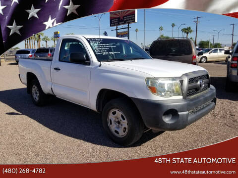 2011 Toyota Tacoma for sale at 48TH STATE AUTOMOTIVE in Mesa AZ