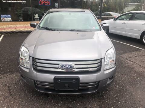 2007 Ford Fusion for sale at Barry's Auto Sales in Pottstown PA