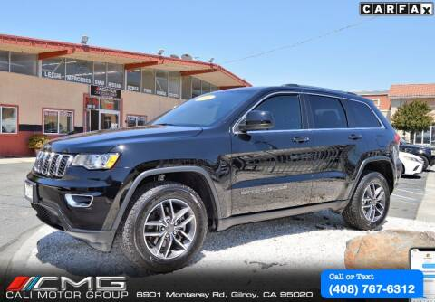 2019 Jeep Grand Cherokee for sale at Cali Motor Group in Gilroy CA