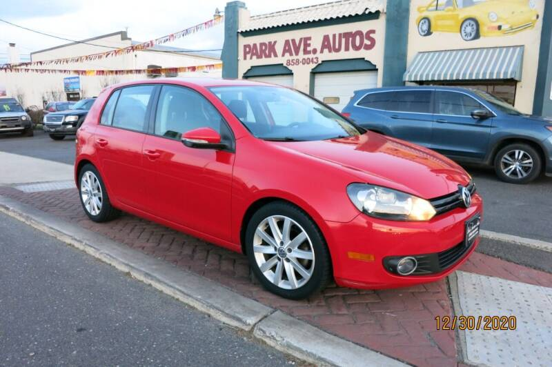2011 Volkswagen Golf for sale at PARK AVENUE AUTOS in Collingswood NJ