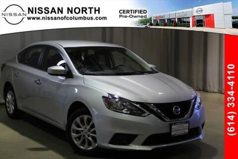 2019 Nissan Sentra for sale at Auto Center of Columbus in Columbus OH