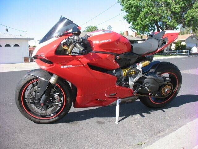 2012 Ducati 1199 Paginale for sale at Mrs. B's Auto Wholesale / Cash For Cars in Livermore CA