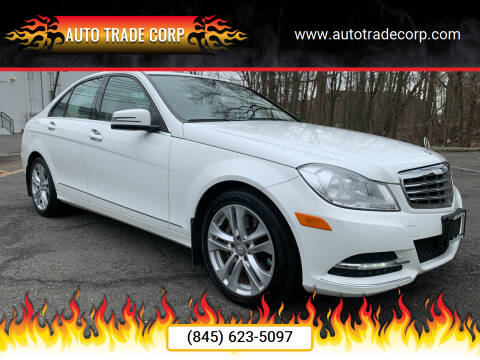 2013 Mercedes-Benz C-Class for sale at AUTO TRADE CORP in Nanuet NY