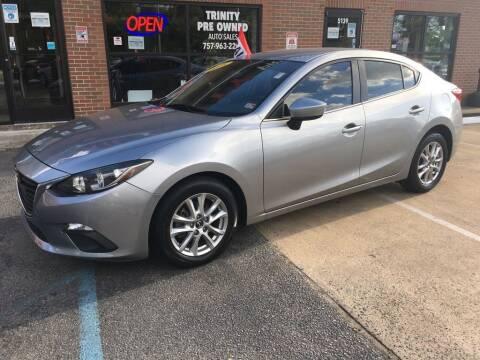 2016 Mazda MAZDA3 for sale at Bankruptcy Car Financing in Norfolk VA
