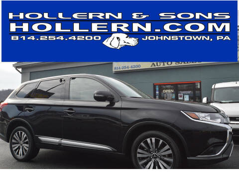 2019 Mitsubishi Outlander for sale at Hollern & Sons Auto Sales in Johnstown PA
