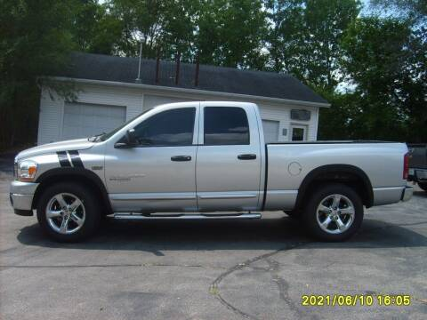 2006 Dodge Ram Pickup 1500 for sale at Northport Motors LLC in New London WI