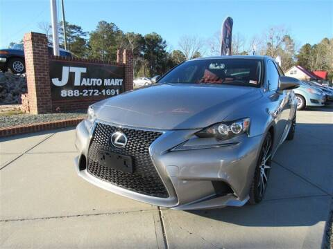 2015 Lexus IS 250 for sale at J T Auto Group in Sanford NC