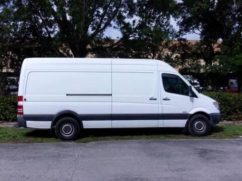 2010 Freightliner Sprinter 2500 for sale at Tropical Motors Cargo Vans and Car Sales Inc. in Pompano Beach FL