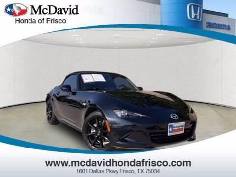 2016 Mazda MX-5 Miata for sale at DAVID McDAVID HONDA OF IRVING in Irving TX