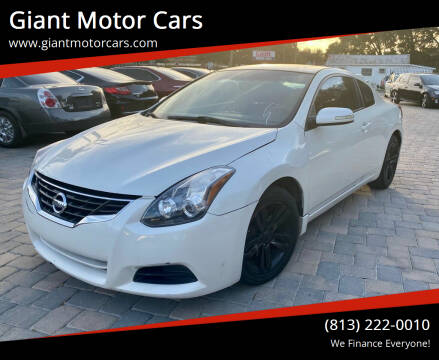 2010 Nissan Altima for sale at Giant Motor Cars in Tampa FL