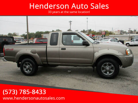 2004 Nissan Frontier for sale at Henderson Auto Sales in Poplar Bluff MO
