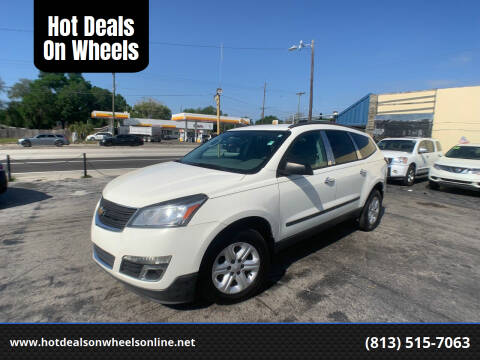 2013 Chevrolet Traverse for sale at Hot Deals On Wheels in Tampa FL