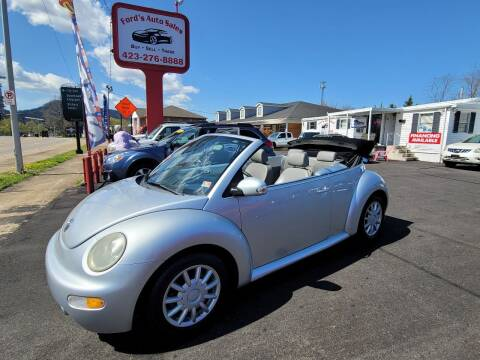 2005 Volkswagen New Beetle Convertible for sale at Ford's Auto Sales in Kingsport TN