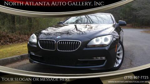 2013 BMW 6 Series for sale at North Atlanta Auto Gallery, Inc in Alpharetta GA