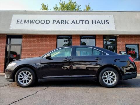 2013 Ford Taurus for sale at Elmwood Park Auto Haus in Elmwood Park IL