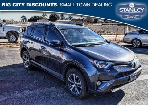 2018 Toyota RAV4 for sale at STANLEY FORD ANDREWS in Andrews TX