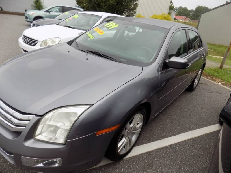 2007 Ford Fusion for sale at Pro-Motion Motor Co in Lincolnton NC