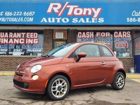 2012 FIAT 500 for sale at R Tony Auto Sales in Clinton Township MI