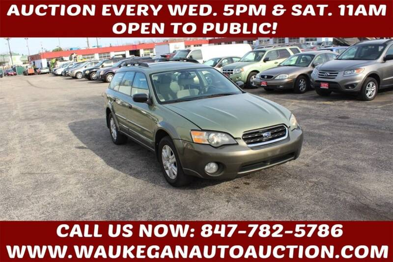 2005 Subaru Outback for sale at Waukegan Auto Auction in Waukegan IL