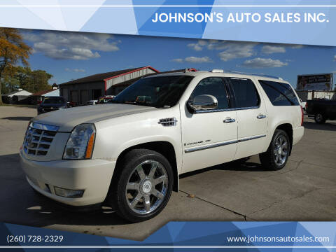 2008 Cadillac Escalade ESV for sale at Johnson's Auto Sales Inc. in Decatur IN
