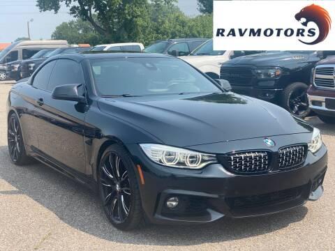 2014 BMW 4 Series for sale at RAVMOTORS in Burnsville MN