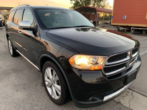 2011 Dodge Durango for sale at JAVY AUTO SALES in Houston TX