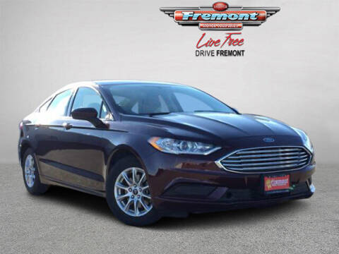2017 Ford Fusion for sale at Rocky Mountain Commercial Trucks in Casper WY