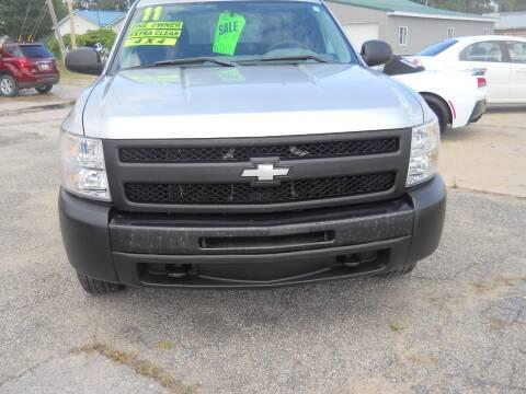 2011 Chevrolet Silverado 1500 for sale at Shaw Motor Sales in Kalkaska MI