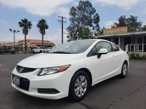 2012 Honda Civic for sale at First Shift Auto in Ontario CA