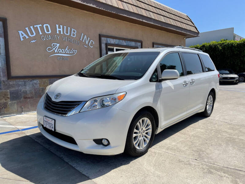 2016 Toyota Sienna for sale at Auto Hub, Inc. in Anaheim CA