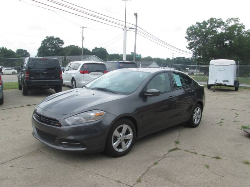 2015 Dodge Dart for sale at Jims Auto Sales in Muskegon MI