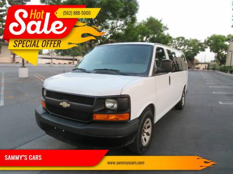 """2012 Chevrolet Express Passenger for sale at SAMMY""""S CARS in Bellflower CA"""