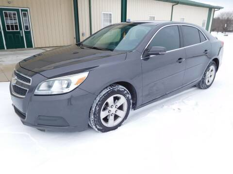 2013 Chevrolet Malibu for sale at WESTERN RESERVE AUTO SALES in Beloit OH