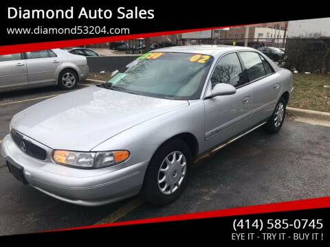 2002 Buick Century for sale at Diamond Auto Sales in Milwaukee WI