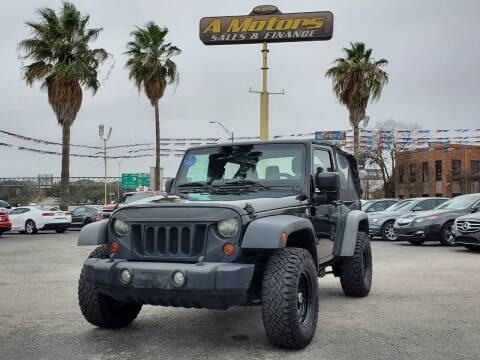 2011 Jeep Wrangler for sale at A MOTORS SALES AND FINANCE in San Antonio TX