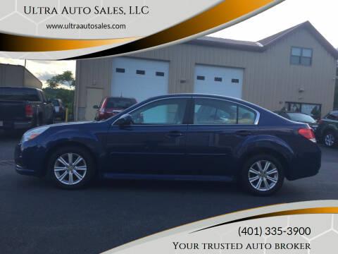 2011 Subaru Legacy for sale at Ultra Auto Sales, LLC in Cumberland RI