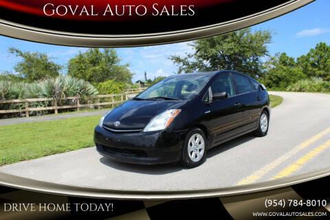 2008 Toyota Prius for sale at Goval Auto Sales in Pompano Beach FL