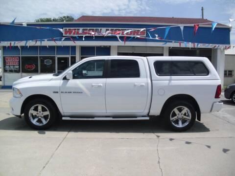 2012 RAM Ram Pickup 1500 for sale at Wilson Motors in Junction City KS