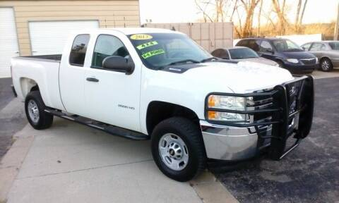 2013 Chevrolet Silverado 2500HD for sale at Jim Clark Auto World in Topeka KS