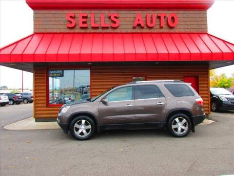 2012 GMC Acadia for sale at Sells Auto INC in Saint Cloud MN